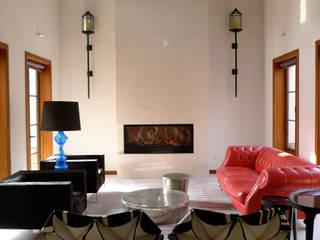 San Marino Villa Ausgefallene Wohnzimmer von Hot Dog Decor Inneneinrichtung & Beratung Ausgefallen