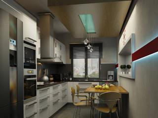 Кухни в . Автор – BA DESIGN, Модерн