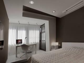 Minimalist bedroom by ARTRADAR ARCHITECTS Minimalist