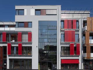 Grüne Lofts Moderne Häuser von planugsgruppe agsn architekten GmbH Modern