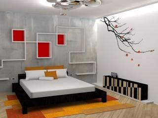 ห้องนอน โดย michel marchesi design, เอเชียน