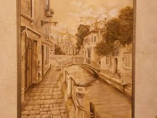 Венеция монохром: Гостиная в . Автор – Абрикос