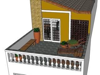 Casas de estilo rústico de Natali de Mello - Arquitetura e Arte Rústico