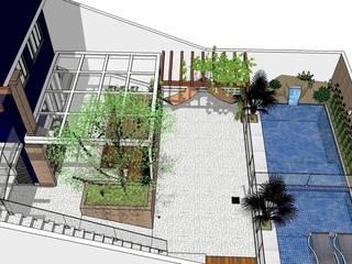 Modern Havuz Natali de Mello - Arquitetura e Arte Modern