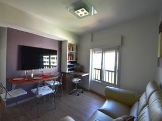 Salas de estilo minimalista de Natali de Mello - Arquitetura e Arte Minimalista