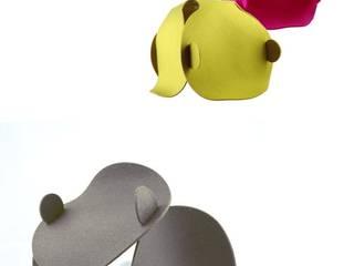 Pink Pug Design Salas/RecibidoresIluminación