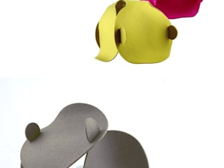 Pink Pug Design ห้องนั่งเล่นไฟห้องนั่งเล่น