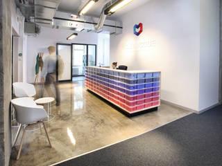 biura CLEARCODE od hanczar studio Minimalistyczny