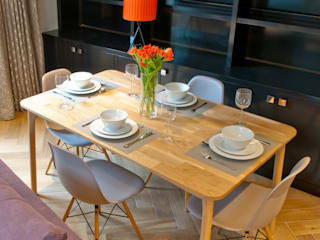 Covent Garden dining room: modern Dining room by Kate Harris Interior Design