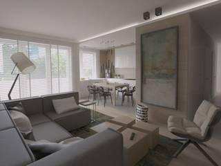 Modern Living Room by The Vibe Modern
