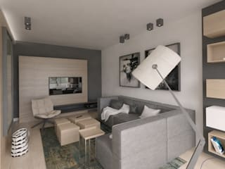 The Vibe Modern Living Room