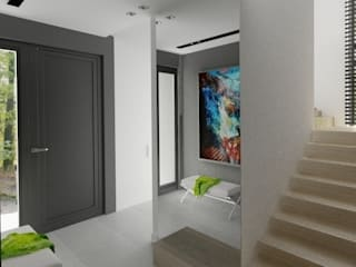 The Vibe Minimalist corridor, hallway & stairs