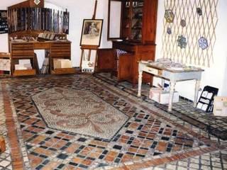pavimento in mosaico di Il mosaico sas & co di salem mohsen Classico
