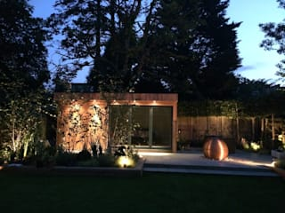 Garden Room in High Barnet, London: modern Study/office by Office In My Garden