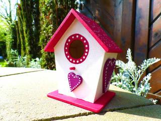 Deko-Vogelhaus Herzen:   von Die kleine Holzhütte