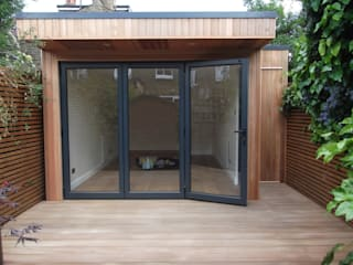 Garden Room in Queens Park, London: modern Study/office by Office In My Garden