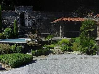 ZEN-Garten im Tessin: mediterraner Garten von japan-garten-kultur