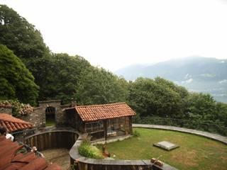 ZEN-Garten im Tessin vor der Umgestaltung:   von japan-garten-kultur