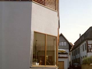 Ansicht Süd Ost Ecke: moderne Häuser von w3-architekten Gerhard Lallinger