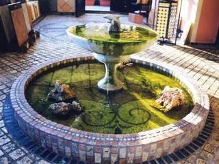 pavimento in mosaico Giardino classico di Il mosaico sas & co di salem mohsen Classico