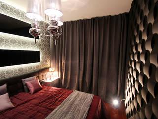 3D Wandpaneele aus Gips:  Schlafzimmer von Loft Design System Deutschland - Wandpaneele aus Bayern