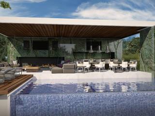 Pabellon Mallorca: Casas de estilo  por GGF Capital Arquitectonica