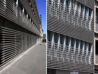 Ristrutturazione di un immobile in via Fara e via Cornalia, Milano Pareti & Pavimenti in stile moderno di Studio di Architettura Fabio Nonis Moderno