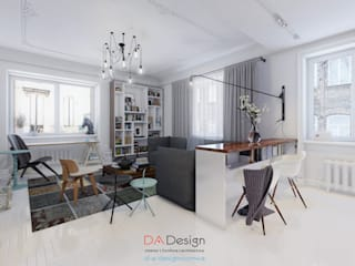 Scandinavian style living room by DA-Design Scandinavian