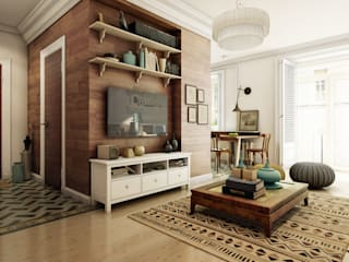 DA-Design Colonial style living room
