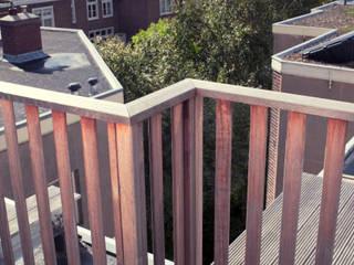 Balcon, Veranda & Terrasse classiques par Dakterras.nl Classique