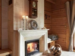 Pracownia Projektowa Poco Design Rustic style living room