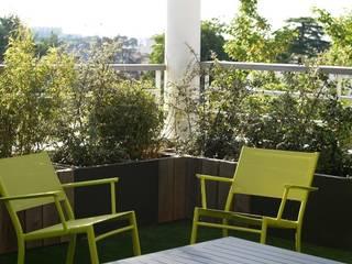 Terrasse Nantes - contemporaine: Terrasse de style  par SO GREEN