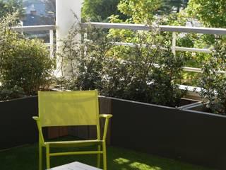terrasse Nantes contemporaine: Terrasse de style  par SO GREEN