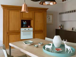 Pracownia Projektowa Poco Design Cocinas de estilo ecléctico
