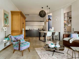 Pracownia Projektowa Poco Design Salones de estilo ecléctico
