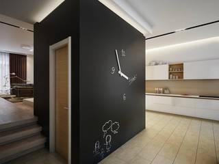 DA-Design Minimalist corridor, hallway & stairs