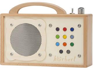 hörbert: Tragbarer MP3-Player aus Holz:   von WINZKI GmbH & CO. KG