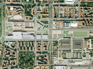 Complesso polifunzionale nell'area dell'ex Stazione ferroviario di Porta Vittoria, Milano di Studio di Architettura Fabio Nonis