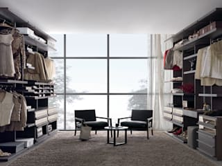 Walk-in-wardrobe Lamco Design LTD Dressing roomStorage