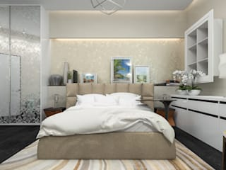 Minimalist bedroom by pashchak design Minimalist