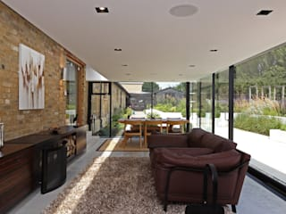 Dovecote Barn Tye Architects Modern Living Room