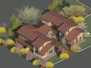 Studio la Piramide Architettura e Urbanistica Rustikale Häuser