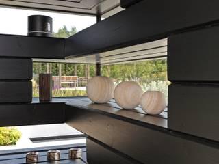 Dovecote Barn Livings de estilo moderno de Nicolas Tye Architects Moderno