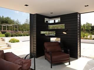 Dovecote Barn Tye Architects Modern living room