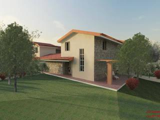 Studio la Piramide Architettura e Urbanistica Rustic style walls & floors