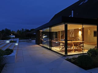 Dovecote Barn Modern Evler Tye Architects Modern