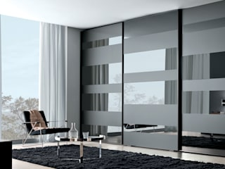 segmenta - Sliding glass door wardrobes Lamco Design LTD DormitoriosArmarios y cómodas