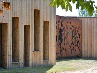 BIBLIOTHEQUE de Saint Gildas des Bois (44) Lieux d'événements modernes par Atelier du lieu Moderne