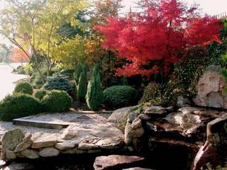 Estanque : Jardines de estilo rústico de La ermita de Pozuelo