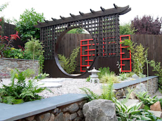Japanese-Inspired Garden Lush Garden Design Asian style garden